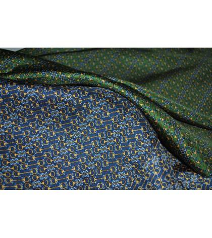 Blue Mood Eșarfă din mătase naturală